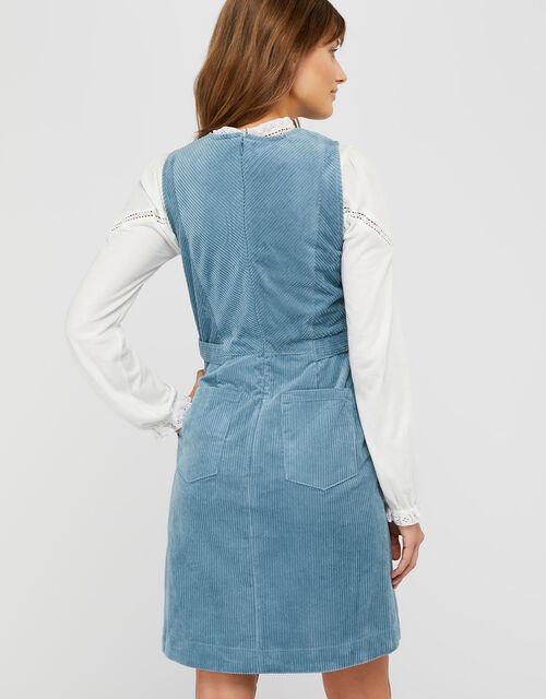 Calla Cord Dress, Blue, large