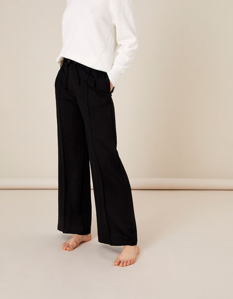 Wide-Leg Trousers Black, Black (BLACK), large
