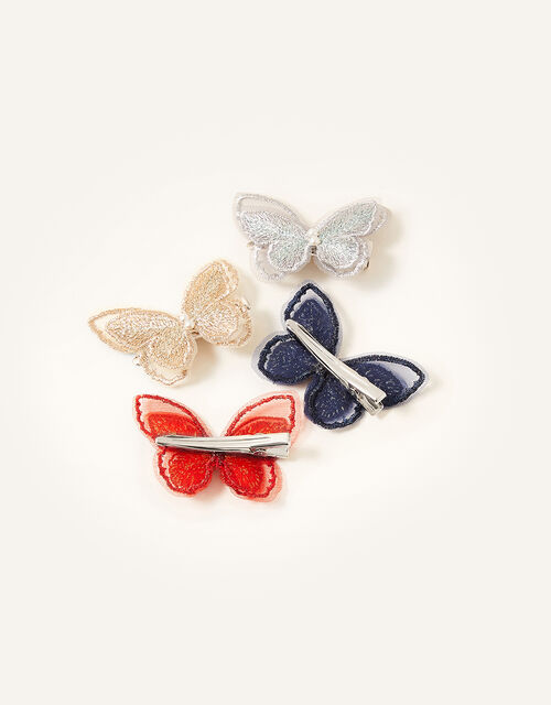 Winter Butterfly Clip Set, , large