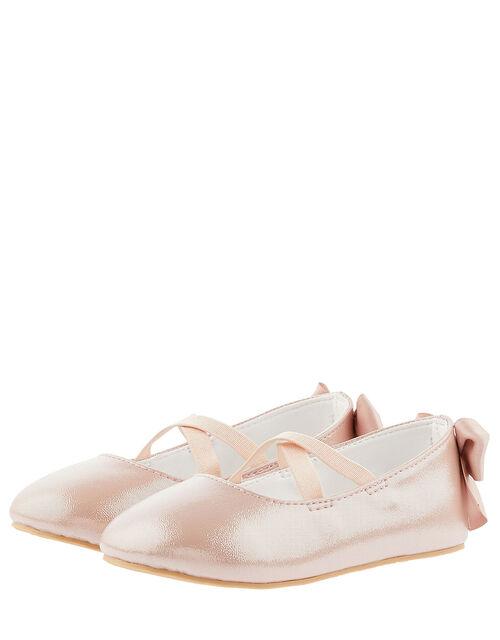 Baby Valeria Shimmer Walker Shoes, Pink (PINK), large