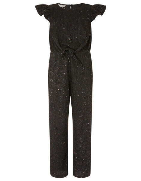 Sparkle Jumpsuit Black, Black (BLACK), large