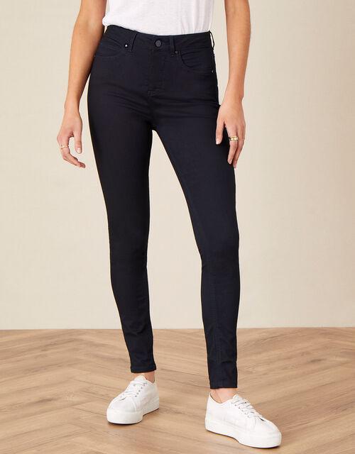 Nadine Short Length Jeans with Organic Cotton, Blue (INDIGO), large
