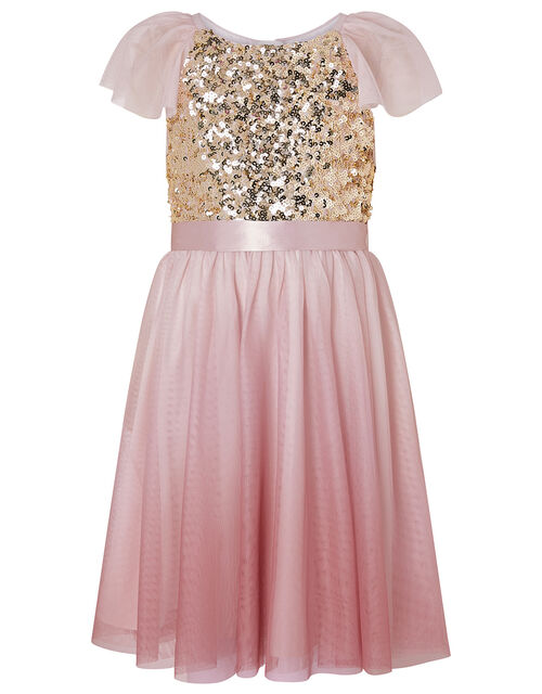 Truth Sequin Ombre Dress, Pink (PINK), large