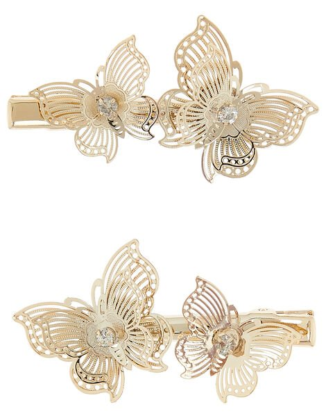 Valeria Butterfly Clip Set , , large
