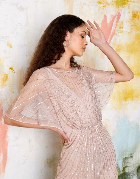 ARTISAN Taylor Embellished Maxi Dress Pink, Pink (PINK), large