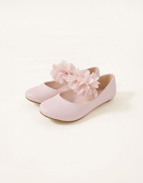 Corsage Ballerina Flats  Pink, Pink (PINK), large