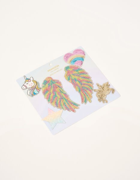 Disco Wings Iron-On Patches, , large