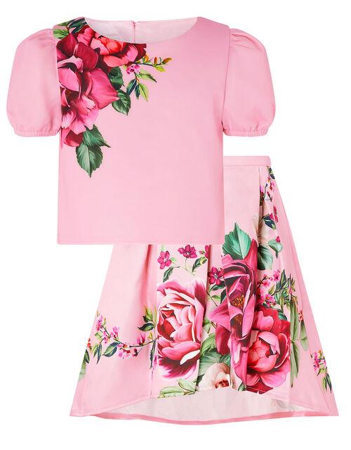 Alana Rose Top and Skirt Set, Pink (PINK), large