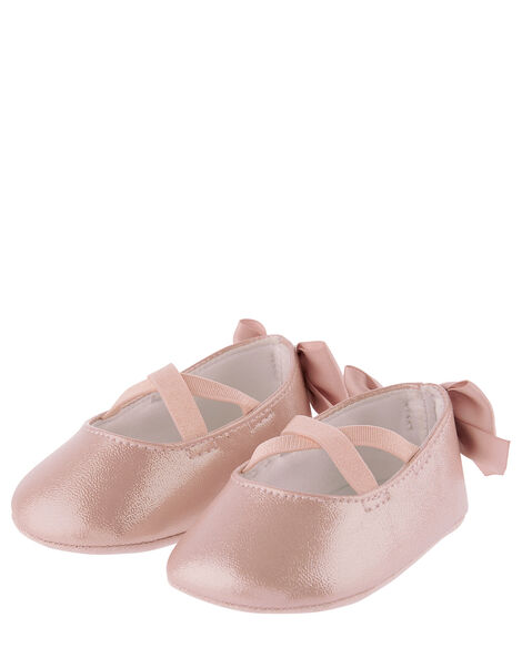 Baby Valeria Shimmer Bootie Shoes Pink, Pink (PINK), large