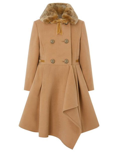 Camel Waterfall Coat Camel, Camel (CAMEL), large
