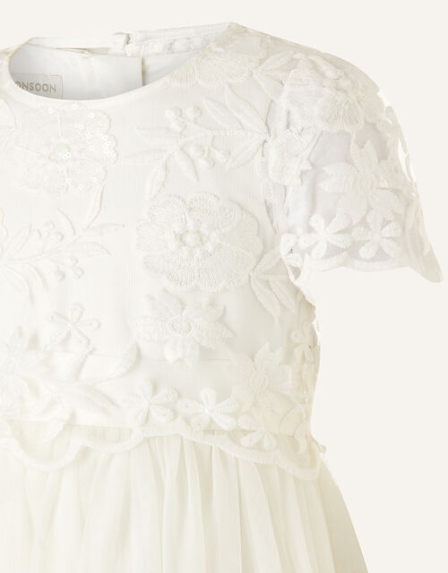 Lace Top and Dress 2-in-1 Set, Ivory (IVORY), large