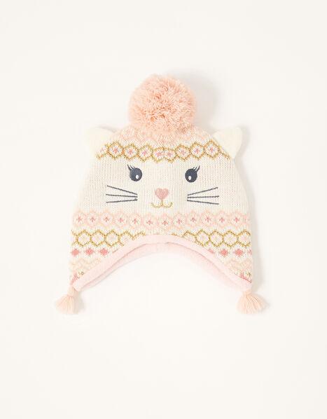 Baby Christmas Snowcat Hat Multi, Multi (MULTI), large