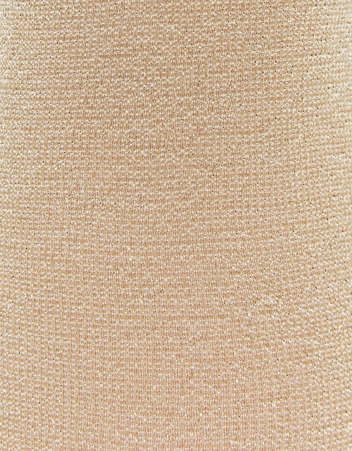 Baby Sparkly Nylon Tights, Gold (GOLD), large