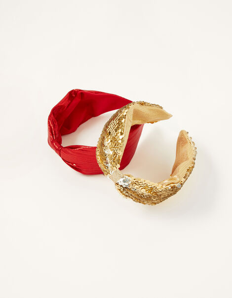 Sequin and Shimmer Headbands, , large