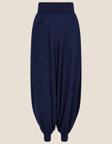 LOUNGE Heidi Jersey Hareem Trousers  Blue, Blue (NAVY), large