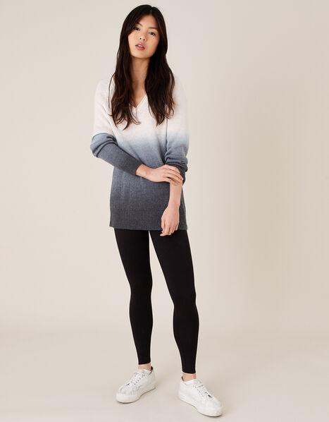 Penelope Jersey Leggings Black, Black (BLACK), large