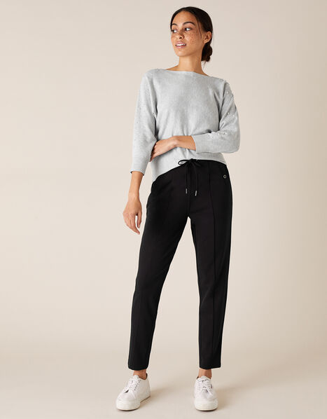 LOUNGE Layla Trousers Black, Black (BLACK), large