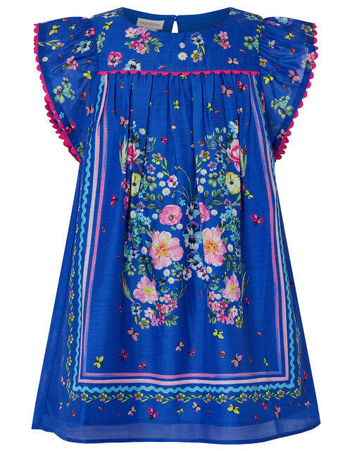 Gianna Butterfly Tunic and Leggings Set, Blue (BLUE), large