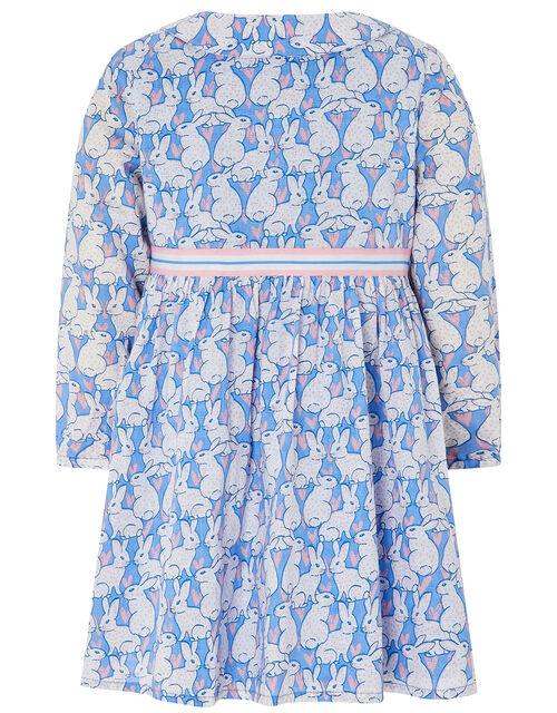 S.E.W Baby Uma Bunny Rabbit Dress, Blue (BLUE), large