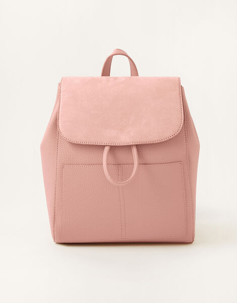 Paxton Pocket Backpack Pink, Pink (BLUSH), large