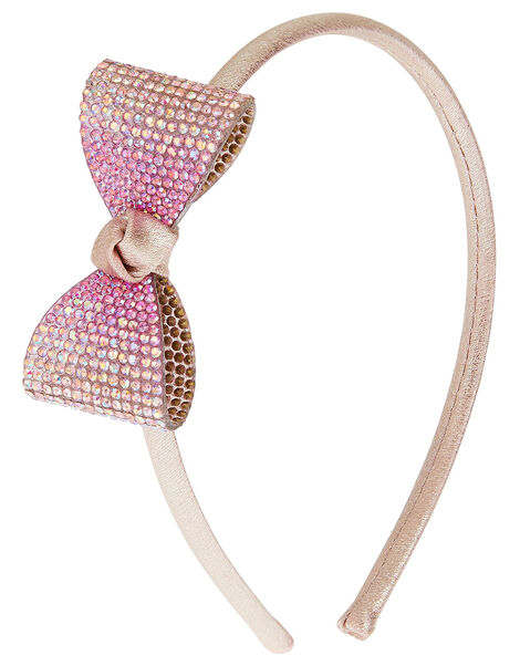 Ombre Diamante Bow Headband , , large