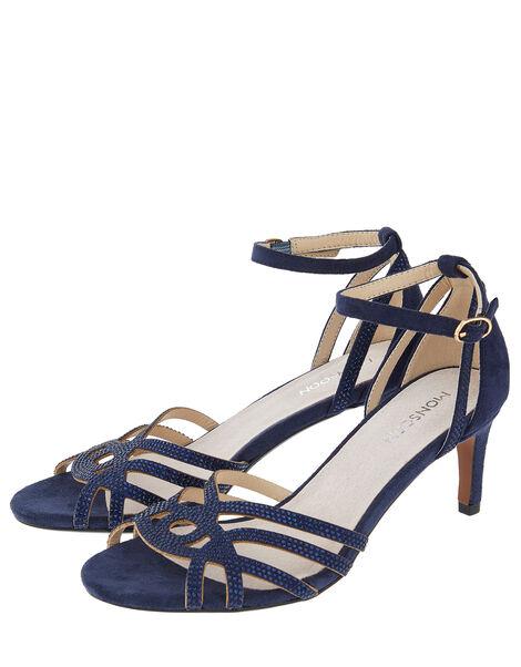 Hatty Gem Sandals Blue, Blue (NAVY), large