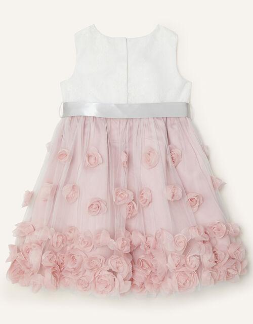 Baby Ianthe Dress, Pink (DUSKY PINK), large