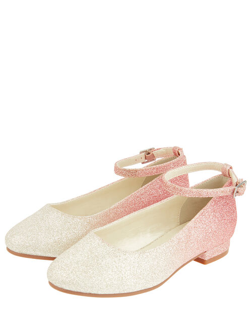 Ombre Glitter Shoes, Pink (PINK), large