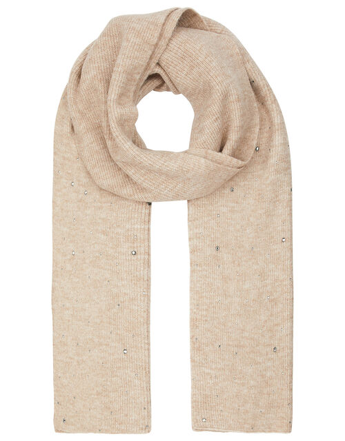 Georgia Gem Knit Scarf, , large