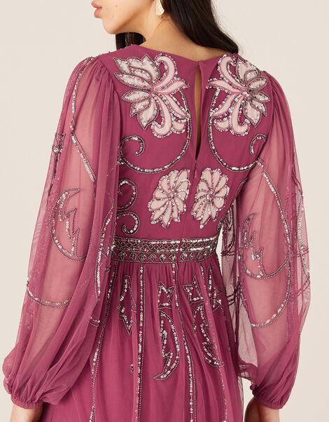 ARTISAN Regina Embellished Dress Pink, Pink (PINK), large