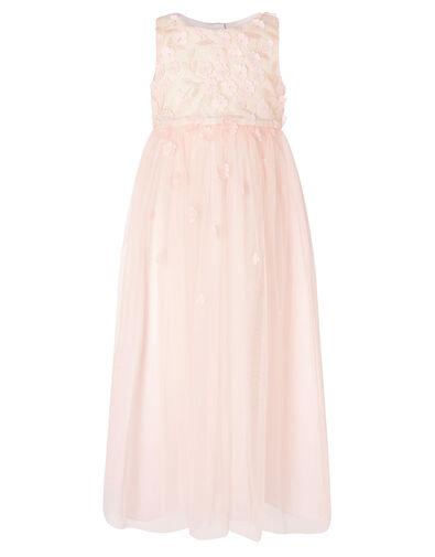 Petunia 3D Petal Maxi Dress  Pink, Pink (PALE PINK), large