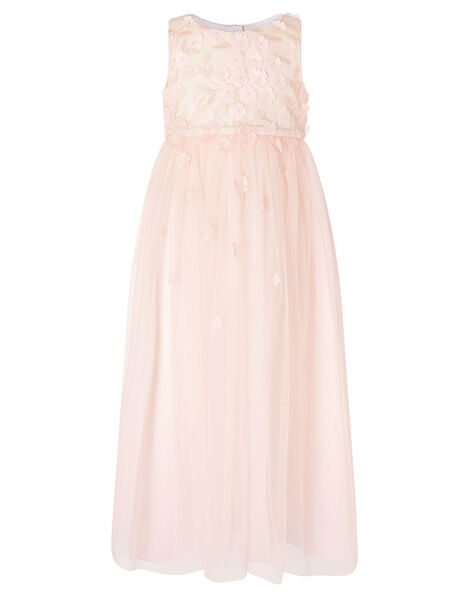 Petunia 3D Petal Maxi Dress  Pink, Pink (PALE PINK), large