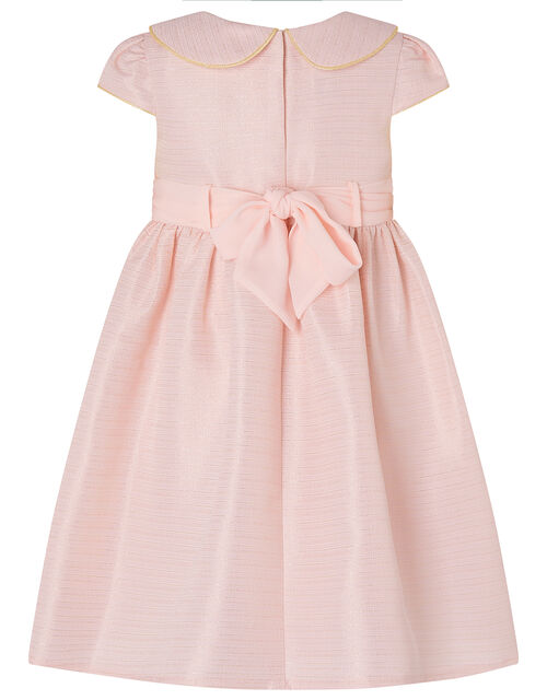 Baby Collared Dress, Pink (PALE PINK), large