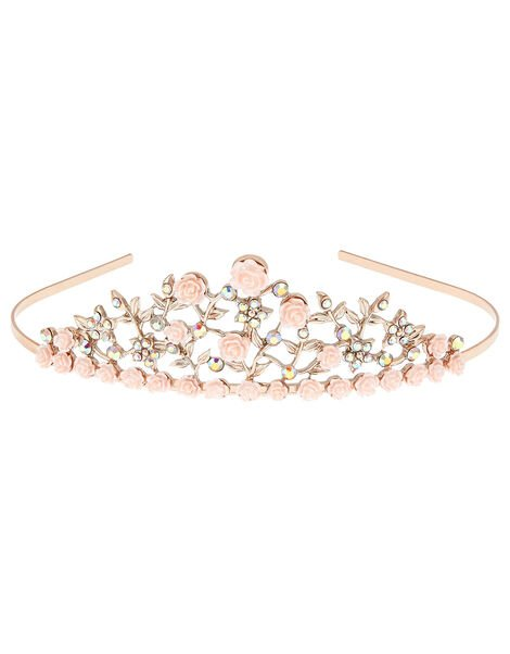 Diane Flower Tiara, , large