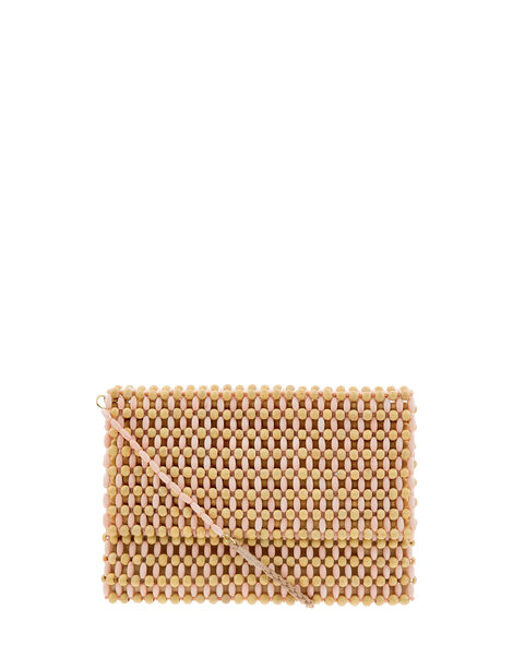 Winnie Bead Cross-Body Clutch Bag, , large