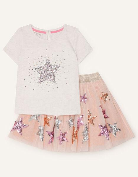 Star Top and Skirt Set Multi, Multi (MULTI), large