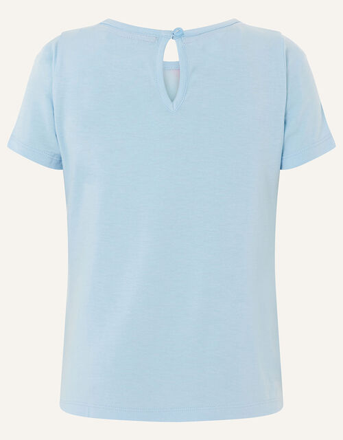 Majestic Horse T-Shirt , Blue (BLUE), large