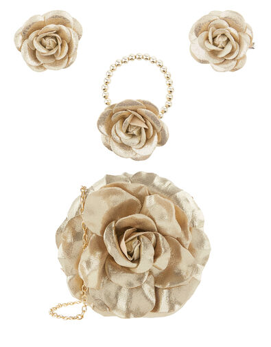 Shimmer Garden Flower Accessory Set , , large
