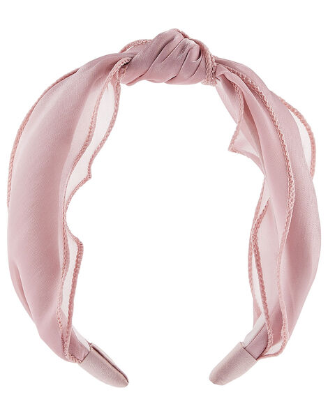 Pretty Knotted Shimmer Headband , , large