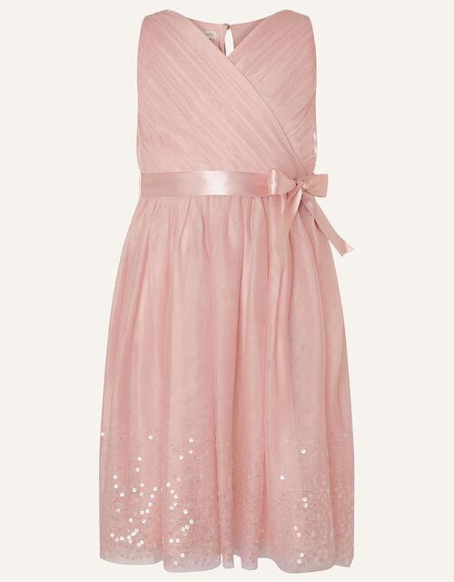 Lana Sequin Dress, Pink (PINK), large