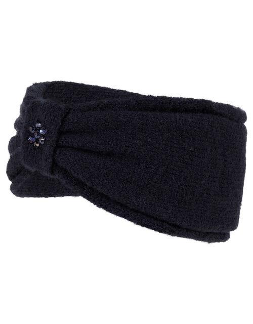 Sparkle Bow Knit Bando, , large