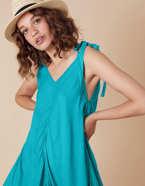 Relaxed Romper in LENZING™ ECOVERO™ Blue, Blue (TURQUOISE), large