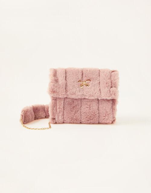 Fluffy Hand Muffler Bag, , large
