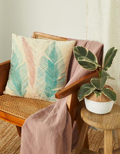 Feather Velvet Cushion, , large